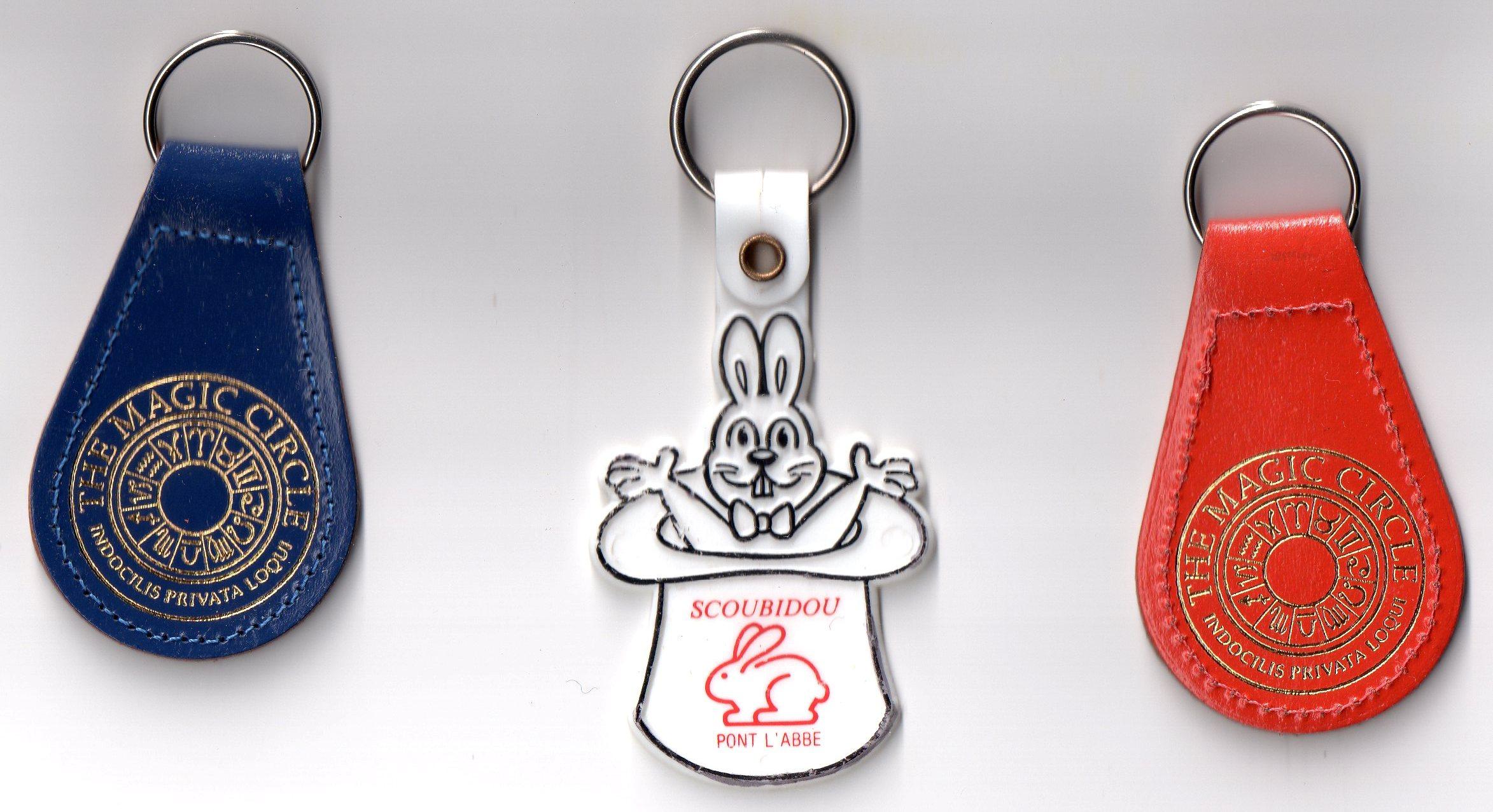 Des porte clefs magiques for Collection de porte clefs